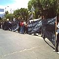 Detuvieron a manifestantes contra minería