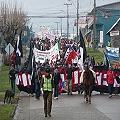 Siete regiones unidas en manifestaciones de rechazo a represas en Aysén
