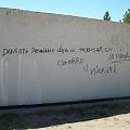 Pintada en cementerio contra militante antiminero
