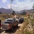 Pobladores toman camino interior contra minera Teck