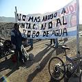Por Barrick llevan 9 días sin agua en Punta Colorada