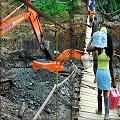 Juez falla contra mineros ilegales y funcionarios públicos