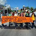 Marcha por la Justicia ambiental en Cancún
