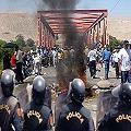 Huaraz siguió protestando contra minera