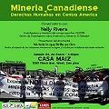 Minería canadiense y derechos humanos en Centro America