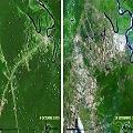 Crudo avance minero y amplia deforestación