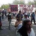 Marcha multitudinaria y Legislatura «tomada» contra proyecto minero San Jorge