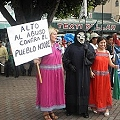 Fotos y videos de marcha antiminera en Panamá
