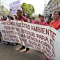 Persisten las marchas de rechazo a la minería