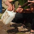 Agua, minas y votos