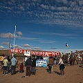 Cabalgata y carnaval contra proyecto minero en Chubut