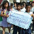 Protesta contra proyectos de extracción minera