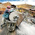 El 75 por ciento de la explotación minera es transnacional y privada