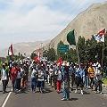 Protestas contra Tía María se trasladaron a Arequipa