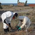 El cianuro hallado en Las Grutas fue devuelto a Sierra Grande