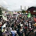 Hidroeléctrica desata protestas en principales ciudades del país