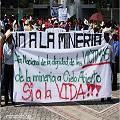 Comunidades afectadas exigen respeto por sus derechos a las mineras