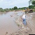 Explotación minera acaba con el río Maracas