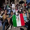 """La Caravana por la Paz """"clausura"""" Mina San Xavier"""