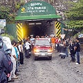 Protestan obreros de mina nicaragüense