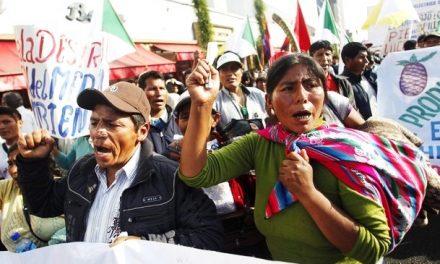 Suspenden protestas en Puno y garantizan elecciones