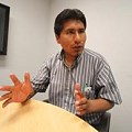 Líder de protesta antiminera se refugia en canal de TV en Lima
