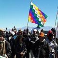 Piquete contra la megaminería en Jujuy y Salta