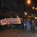 Marcha contra Aratirí en Montevideo