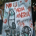 Campaña MEGAMINERIA NO en Chubut