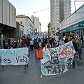 En Comodoro también marcharon contra la megamineria