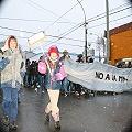 Masiva marcha por el NO a la mina en todo Chubut