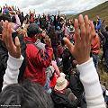 Minería origina protestas en Azuay
