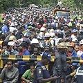 Policía mata a trabajador durante protesta en mina de Indonesia