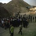 Baleados por represión policial a favor de minera