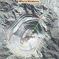 Minera Alumbrera agranda el cráter y lo esconde