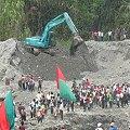 Gran manifestación de Cali a Cajamarca contra la minería