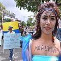 Miles marcharon en Ibagué contra la megaminería