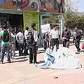 Estudiantes y vecinos impidieron expo feria minera