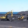 Intiman a minera por acopiar hierro sobre la costa