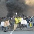 Habitantes de Cuncumén cortan ruta contra Minera Los Pelambres