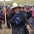 Protesta contra proyecto Conga paraliza una región peruana