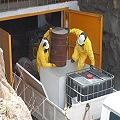Empiezan a retirar cianuro y arsénico de mina Sierra Grande