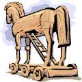 El caballo de Troya, ahora en Esquel