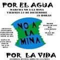 Marcharán en Buenos Aires contra la megaminería y por los glaciares