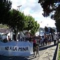 Dos mil personas a nueve años de primeras marchas del No a la Mina