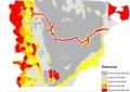 Chubut publica un mapa de las zonas a entregar a las mineras
