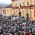 Obispos encabezan manifestación contra mineras en Chiapas