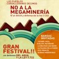 Novilización regional: Gran festival por el agua y la 7722