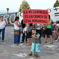 Bariloche: vecinos se manifestaron por el No a la minería