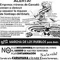 Movilización regional: Caravana desde Santiago a Sumampa